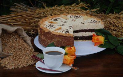 Mandel-Caramel-Torte